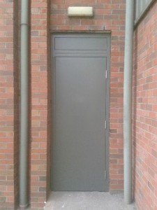 d24 sublin 24 broomhill road steel security door one of 5