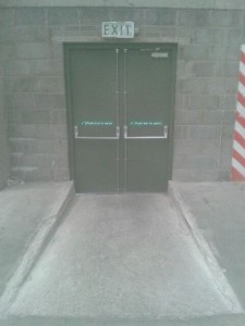 steel door south dublin belgard inside