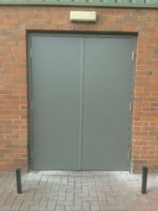 steel door south dublin belgard outside