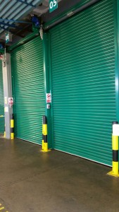 Aerlingus Load bay roller shutters