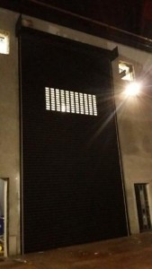 Industrial 8 Meters high Distillery shutter Door