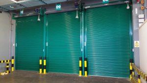 Indutrial roller shutter Aerlingus I roller shutter