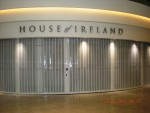 Retail Curved perforated Shutter