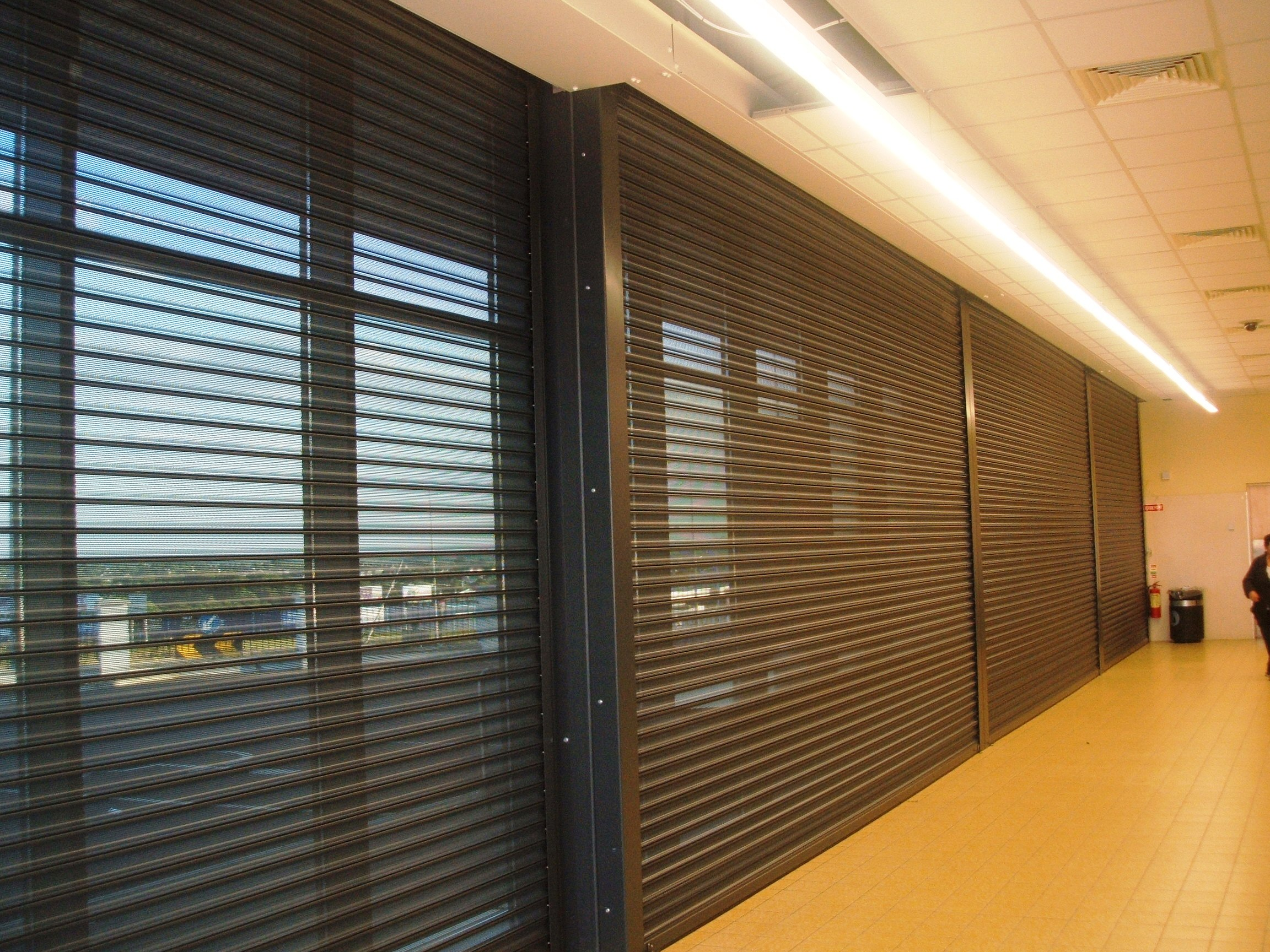 Perforated Retail Roller Shutters C Amp S Repair